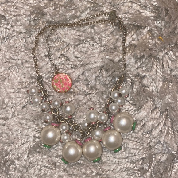Lily Pulitzer bauble necklace